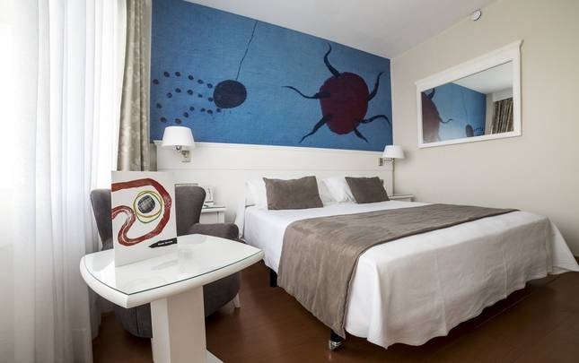 Double room single use Joan Miró Museum Hotel Palma